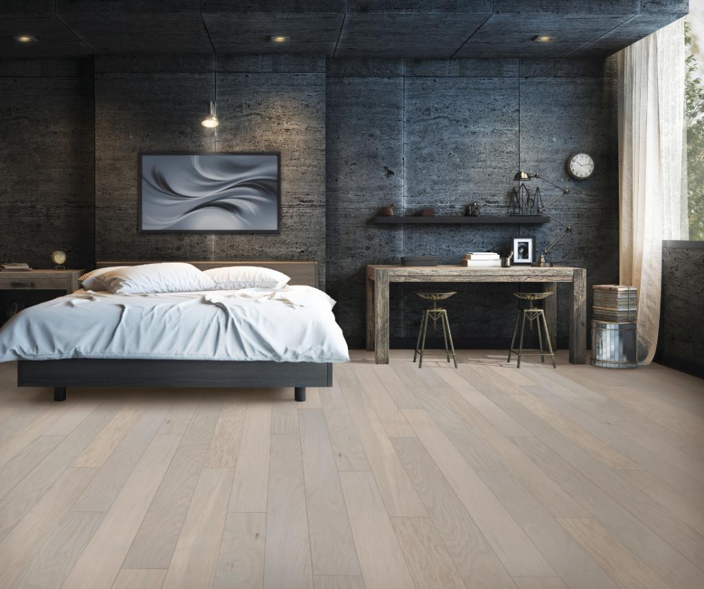 Hardwood flooring of Bedroom | HoC Flooring & Design
