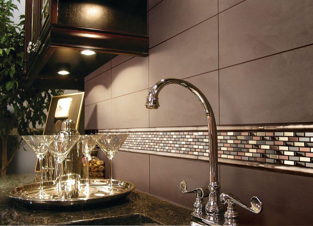 Home Bar Fashion Accents | Tile Inspiration | HoC Flooring & Design