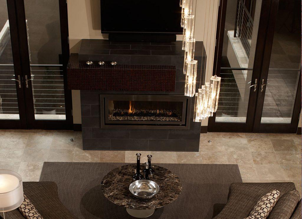 Media Room Metal Fusion | Tile Inspiration | HoC Flooring & Design