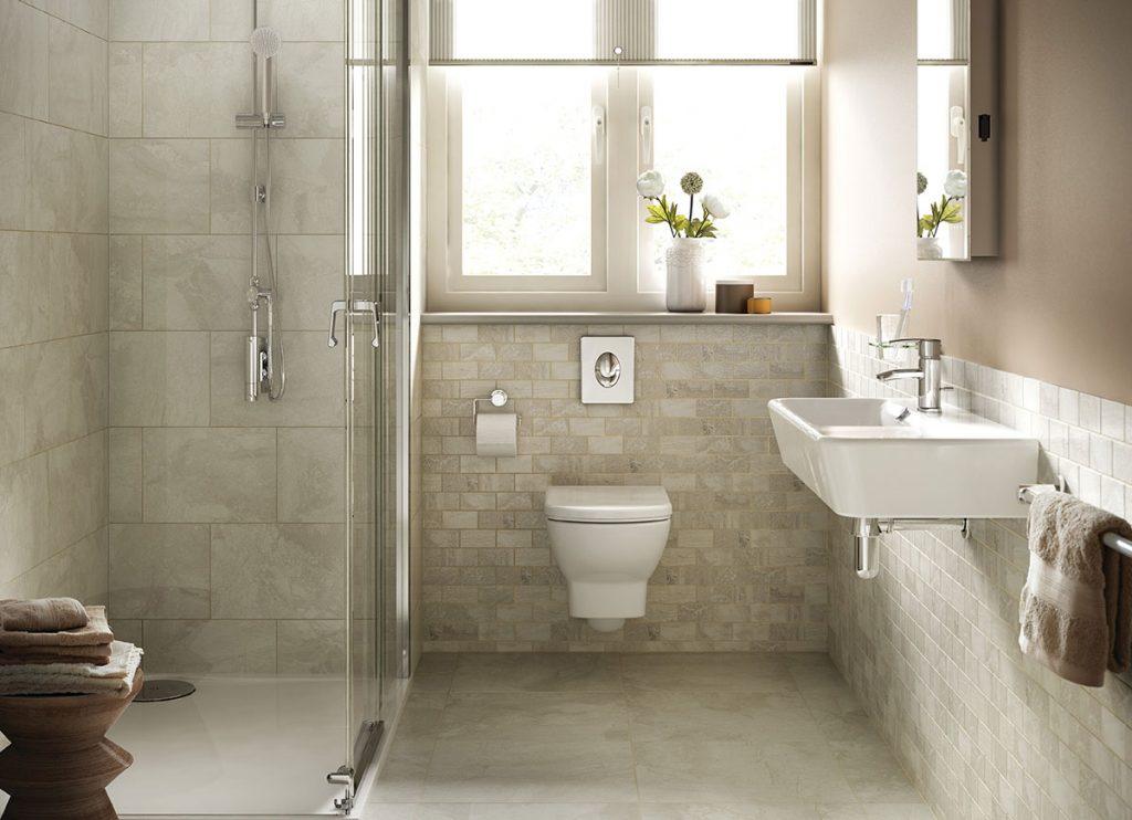 Shower Marble Falls | Tile Inspiration | HoC Flooring & Design