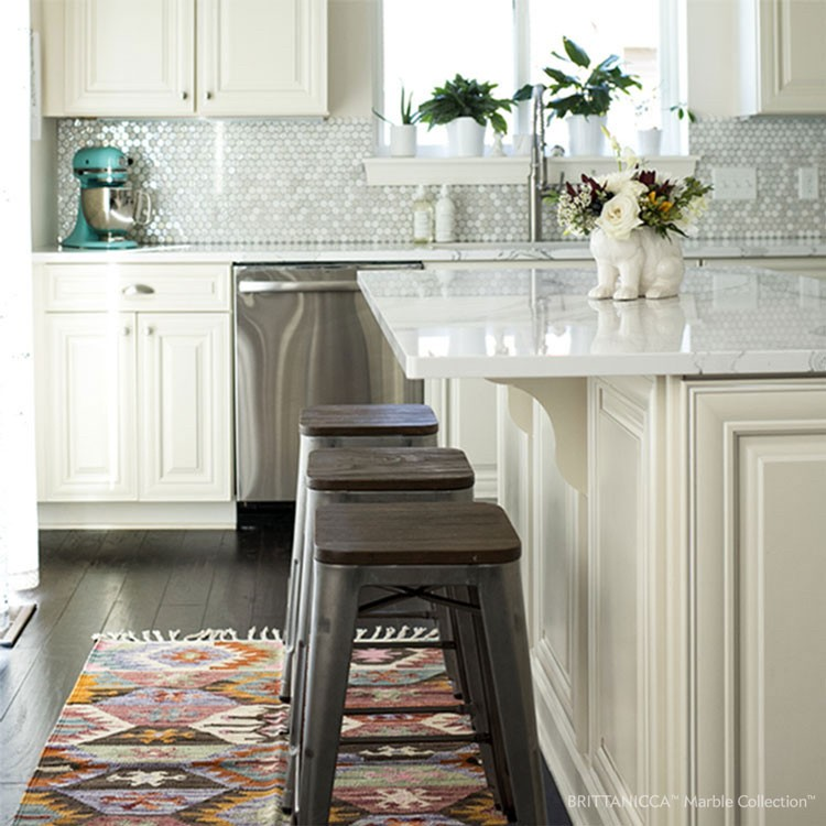 Brittanicca in kitchen | HoC Flooring & Design