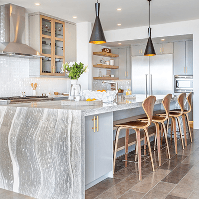 kitchen design is known as the kitchen triangle | HoC Flooring & Design